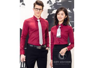 20+ Mẫu đồng phục công sở màu đỏ sang trọng nổi bật đẹp nhất năm 2021