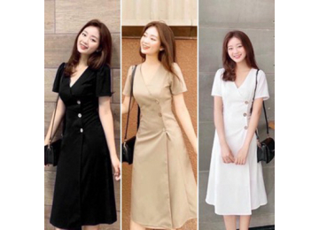 30+ Mẫu váy công sở liền thân cho chị em tự tin khoe dáng